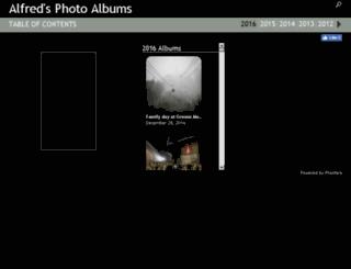 alfredwau.phanfare.com screenshot