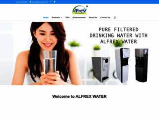 alfrexwater.com.sg screenshot