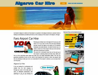 algarve-bycar.com screenshot