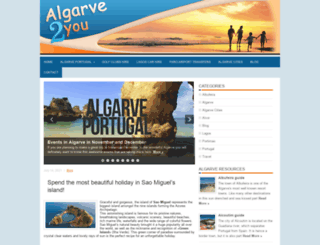 algarve2u.com screenshot