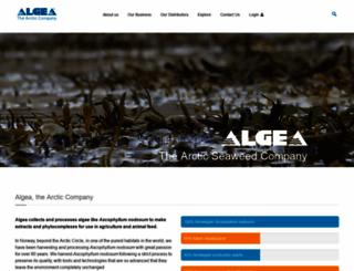 algea.com screenshot