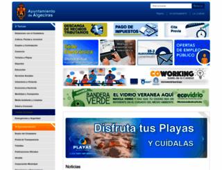 algeciras.es screenshot