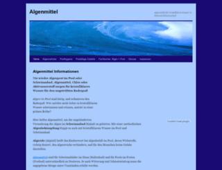 algenmittel.alles-mit-links.net screenshot