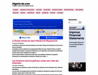 algerie-dz.com screenshot