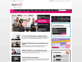 algerielle.com screenshot