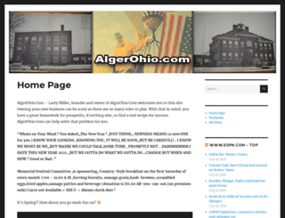 algerohio.com screenshot