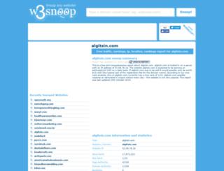 algitsin.com.w3snoop.com screenshot