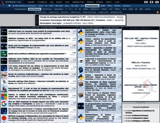 algo.developpez.com screenshot