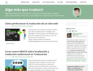 algomasquetraducir.com screenshot