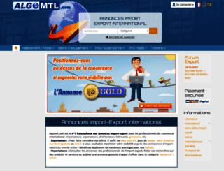 algomtl.com screenshot