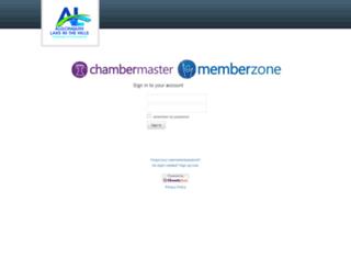 algonquinlakehills.chambermaster.com screenshot