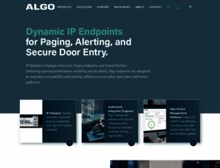 algosolutions.com screenshot