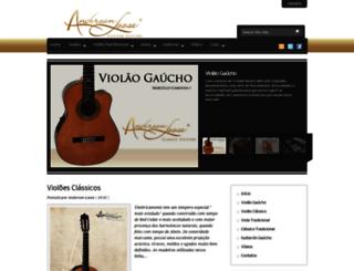 alguitars.com.br screenshot