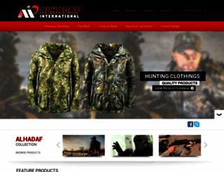 alhadafintl.com screenshot