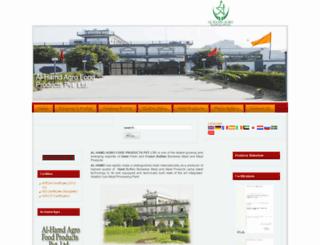 alhamdagro.com screenshot