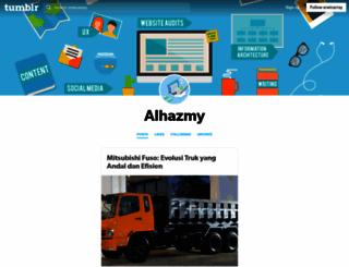 alhazmy.net screenshot