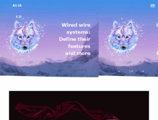 alia-co.com screenshot