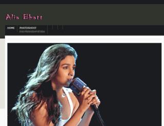 aliabhatt.website screenshot