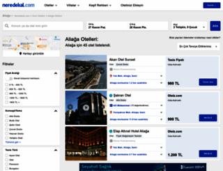 aliaga.neredekal.com screenshot
