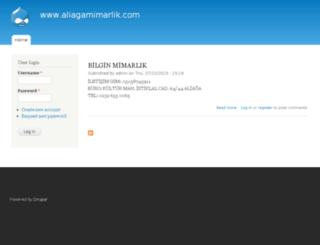 aliagamimarlik.com screenshot