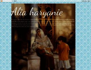 aliaharyanie.blogspot.com screenshot