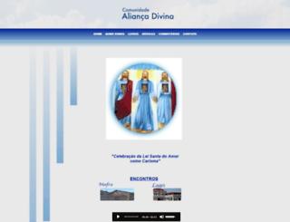 aliancadivina.com.br screenshot