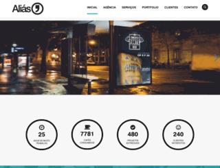 alias.com.br screenshot