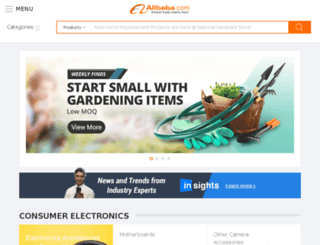 alibaba.co.in screenshot