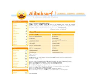 alibabsurf.com screenshot
