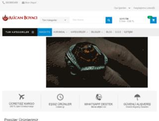 alicanboyaci.com screenshot
