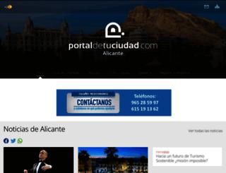 alicante.portaldetuciudad.com screenshot