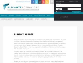 alicanteactualidad.es screenshot