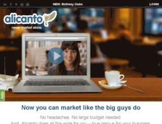 alicanto.com screenshot