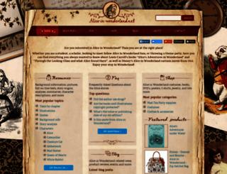 alice-in-wonderland.net screenshot