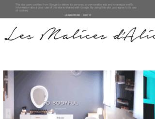 alice-malices.blogspot.de screenshot
