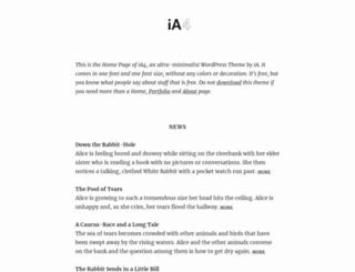 alice.ia.net screenshot
