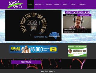 alice965.com screenshot