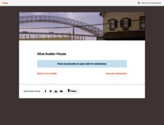 aliceaustenhouse.submittable.com screenshot
