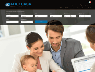 alicecasa.it screenshot