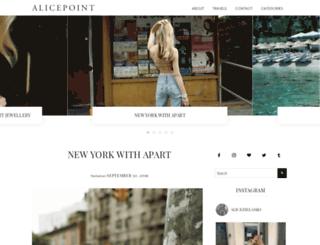 alicepoint.blogspot.fr screenshot