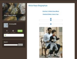 aliciakeys888.typepad.com screenshot