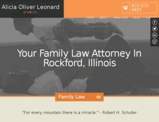 aliciaoliverleonardpc.firmsitepreview.com screenshot