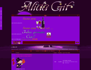 alida.forumfree.it screenshot