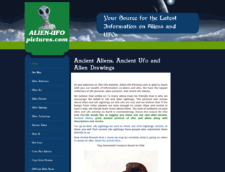 alien-ufo-pictures.com screenshot