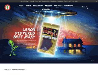 alienfreshjerky.com screenshot