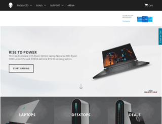 alienware.ca screenshot