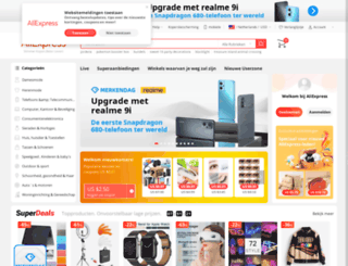 aliexpress.nl screenshot