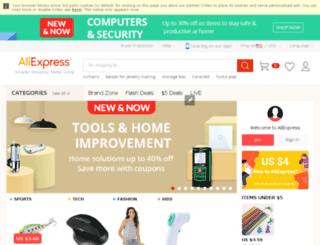 aliexpress.nz screenshot