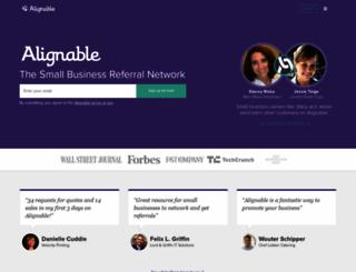 alignable.com screenshot