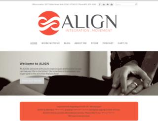 alignforhealth.com screenshot